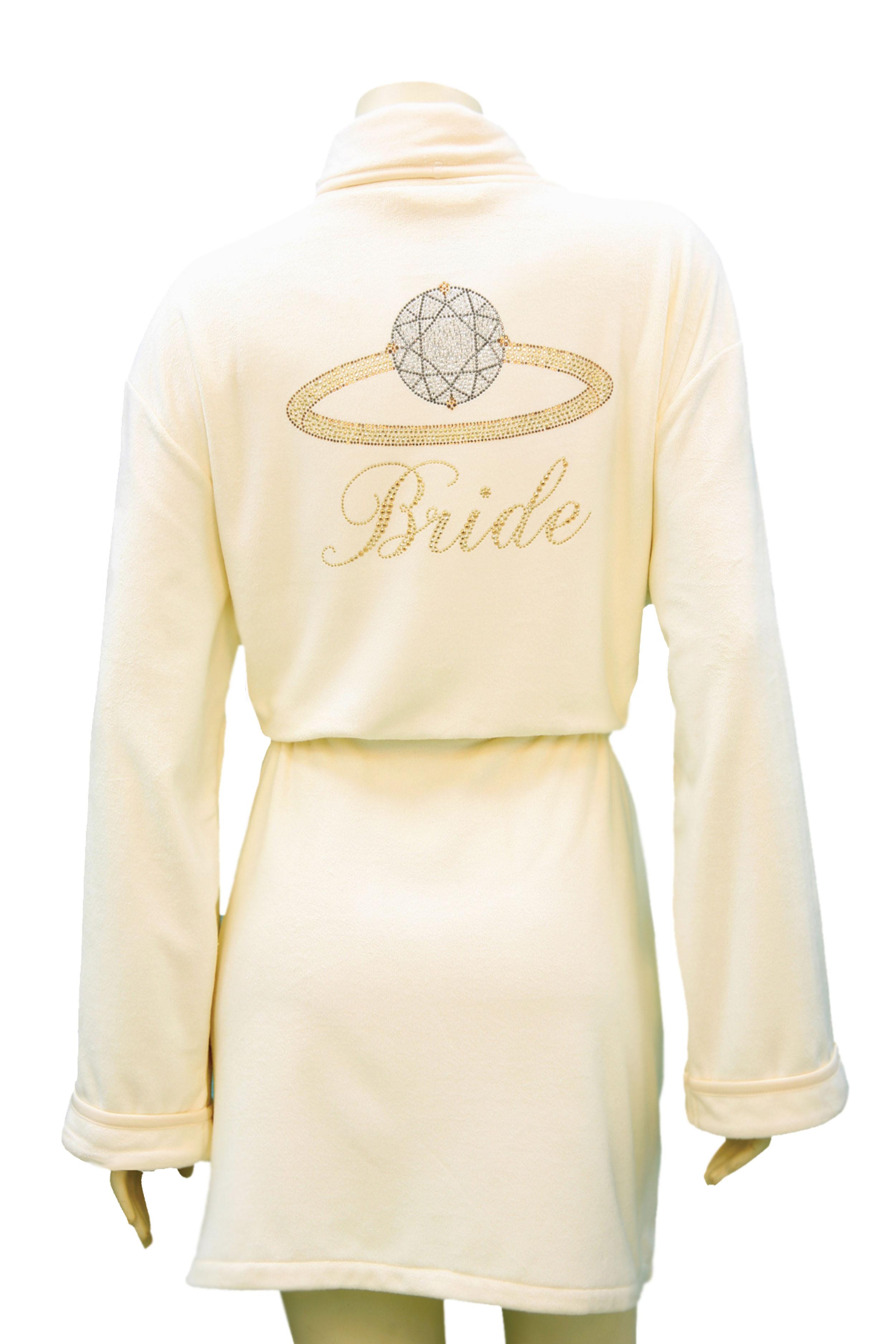 Wrap Up Bride Robe