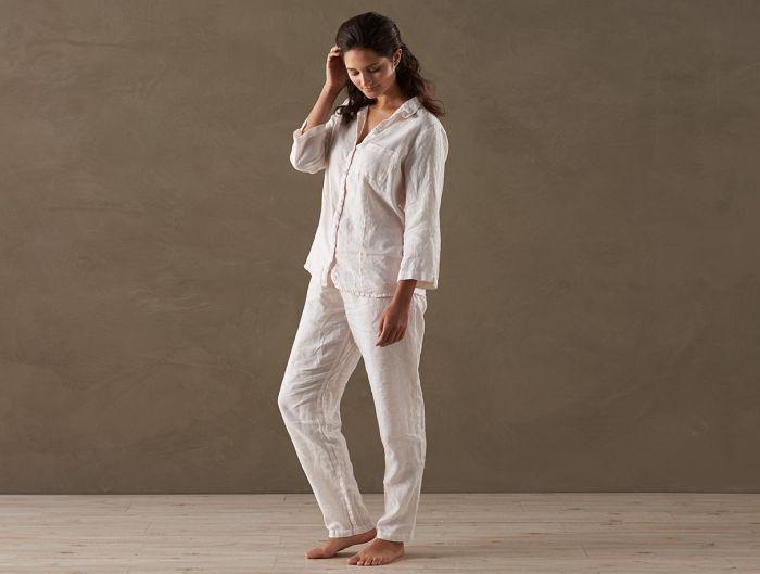 Linen PJ Set