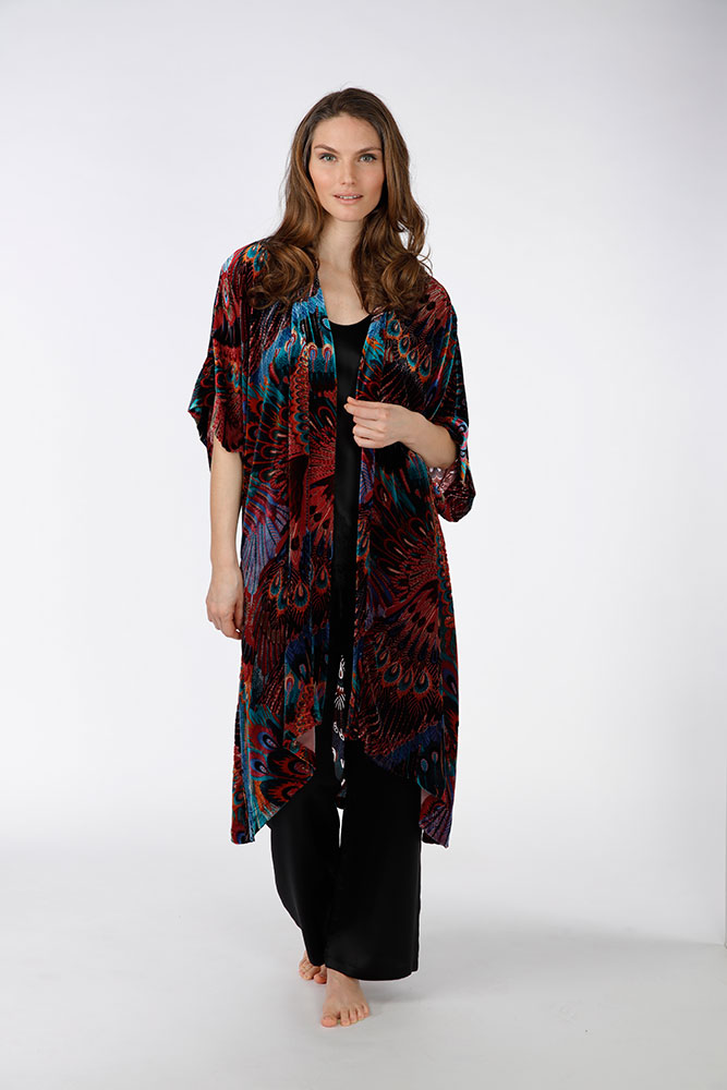 Gatsby Velvet Long Robe