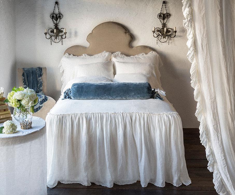 Linen Whisper Bedspread