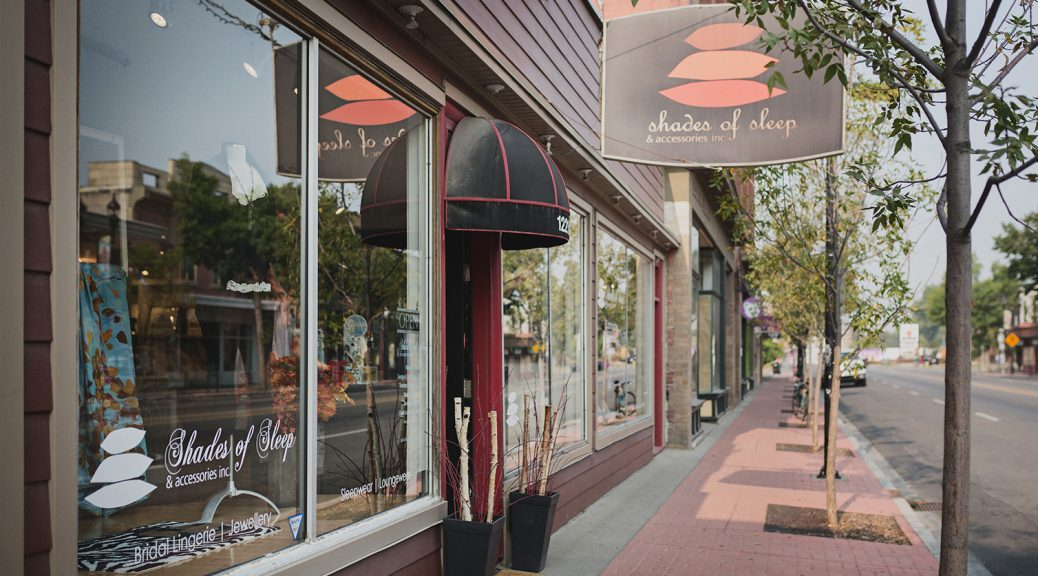 Inglewood Neighbourhood spotlight: Shades of Sleep sign