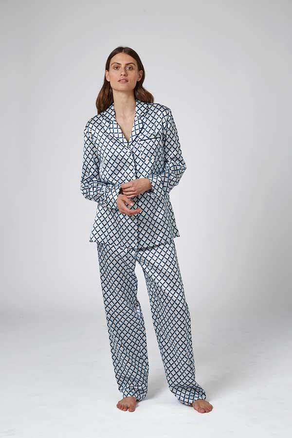 Diamond Print Pajama
