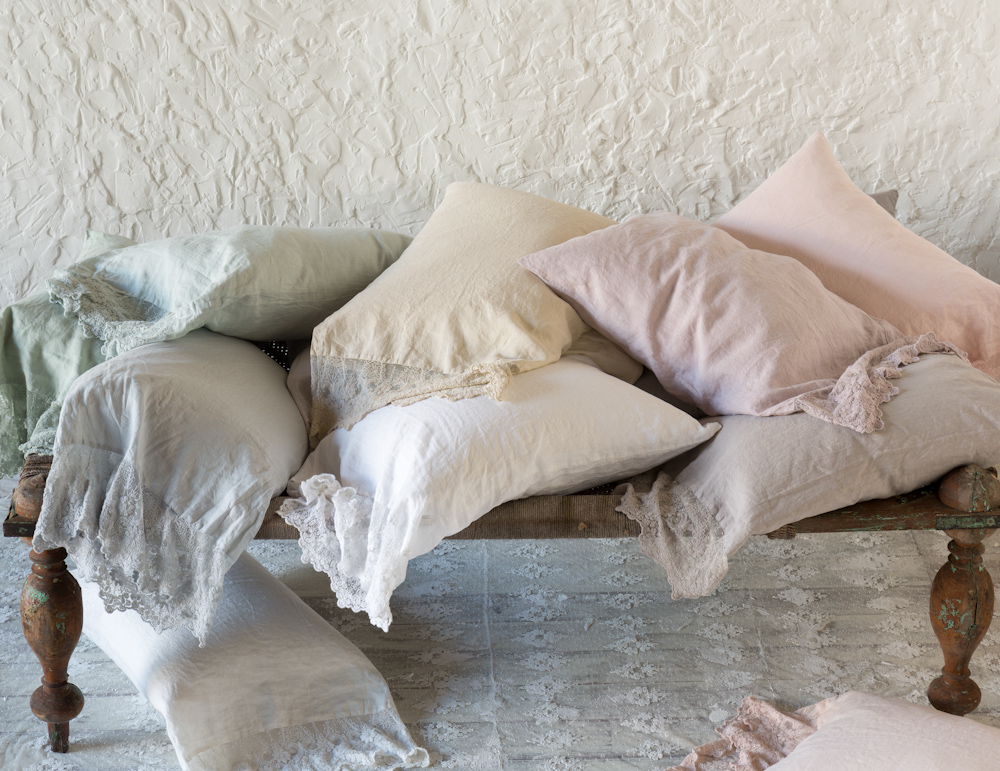 Olivia Linen Pillowcases